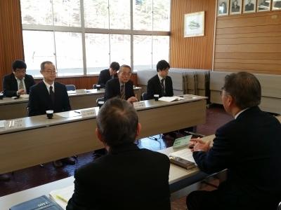 原子力規制委員会更田委員長来庁_d0003224_11410141.jpg