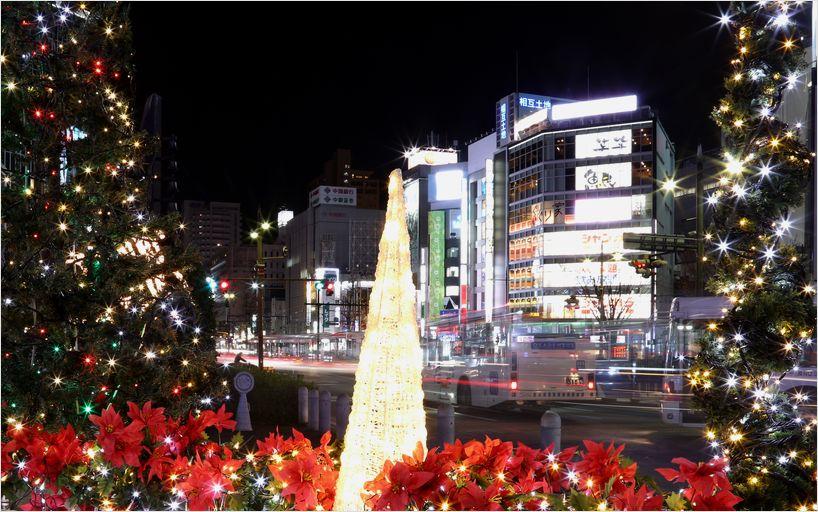 岡山駅前イルミ_a0256349_17155661.jpg