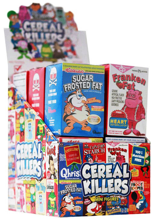"Cereal Killers 3"" Mini Figure Series by Ron English_e0118156_01035969.jpg"