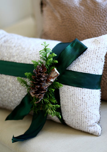クリスマス仕様のクッション♪_d0113182_13174548.jpg