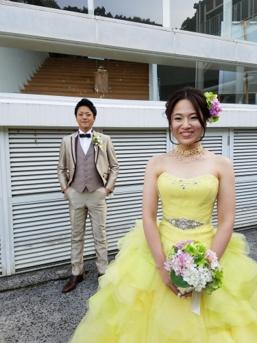 ドレス姿も♡_b0240634_15580691.jpg