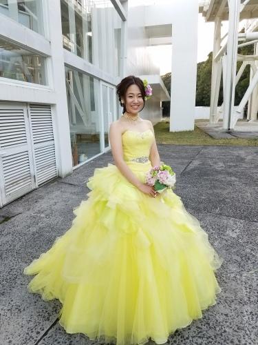 ドレス姿も♡_b0240634_15584195.jpg