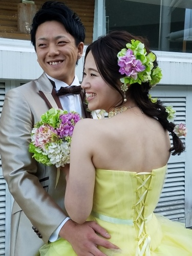 ドレス姿も♡_b0240634_16003559.jpg
