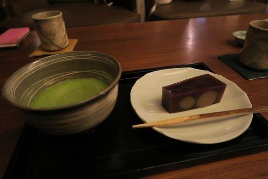 和久傳 堺町店 茶菓席と炙り鯖寿司_c0134734_18243001.jpg