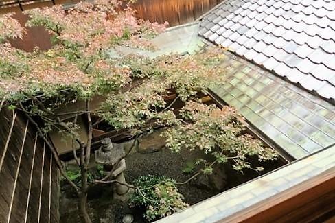 和久傳 堺町店 茶菓席と炙り鯖寿司_c0134734_18245120.jpg