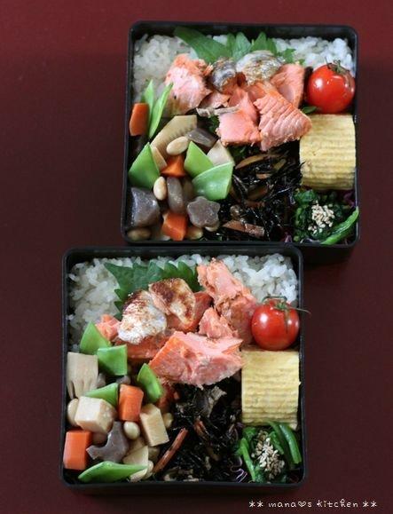 月曜鮭弁 ✿ ぶり大根(๑¯﹃¯๑)♪_c0139375_11135077.jpg