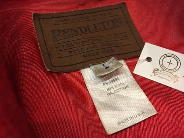12月23日(土)大阪店スーペリア入荷!#1 Blanket Jacket&Blanket!! Pendleton!!_c0078587_17544979.jpg