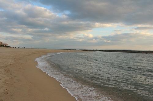 *海にいきました!*~冬の夕日が見たくて_b0328557_21133496.jpg