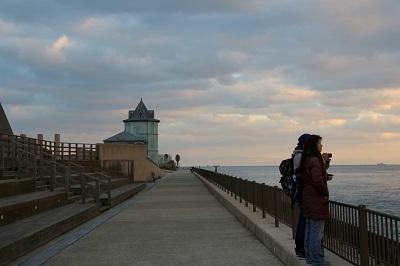 *海にいきました!*~冬の夕日が見たくて_b0328557_21162791.jpg