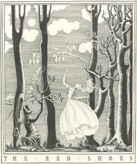 カイ・ニールセン画:アンデルセン童話から「赤い靴」_c0084183_15450100.jpg