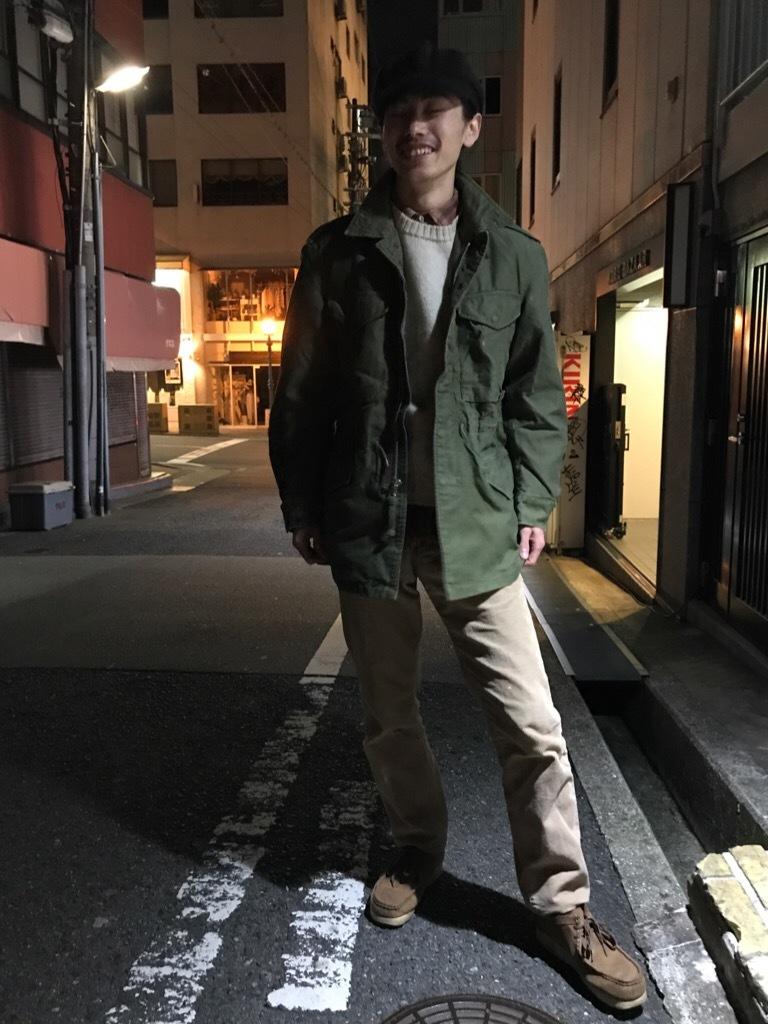 神戸店12/20(水)ヴィンテージ入荷!#5 US.Military Field JKT!!!_c0078587_00024420.jpg