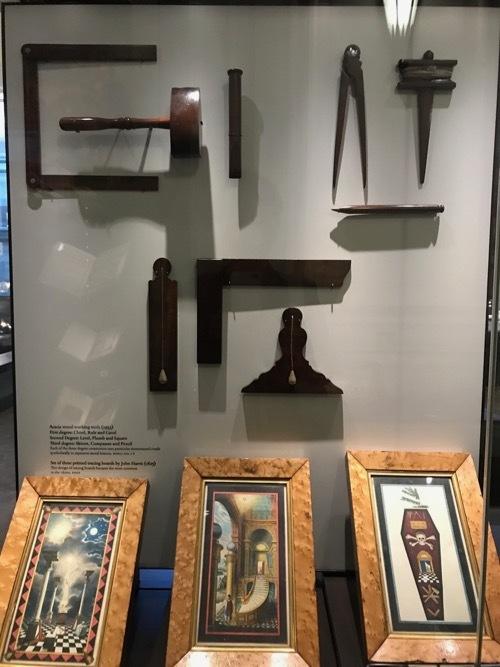 フリーメイソン博物館 in LONDON 3_c0108595_02043773.jpg