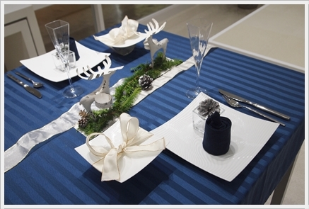 クリスマステーブルをおしゃれに格上げ♪  ~インストラクタークラス_d0217944_23212421.jpg