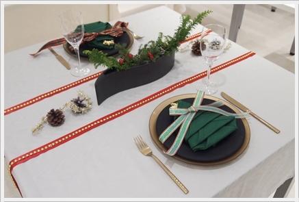 クリスマステーブルをおしゃれに格上げ♪  ~インストラクタークラス_d0217944_23330024.jpg