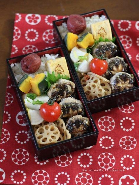 椎茸つくね ✿ キムチ鍋(๑¯﹃¯๑)♪_c0139375_10413477.jpg