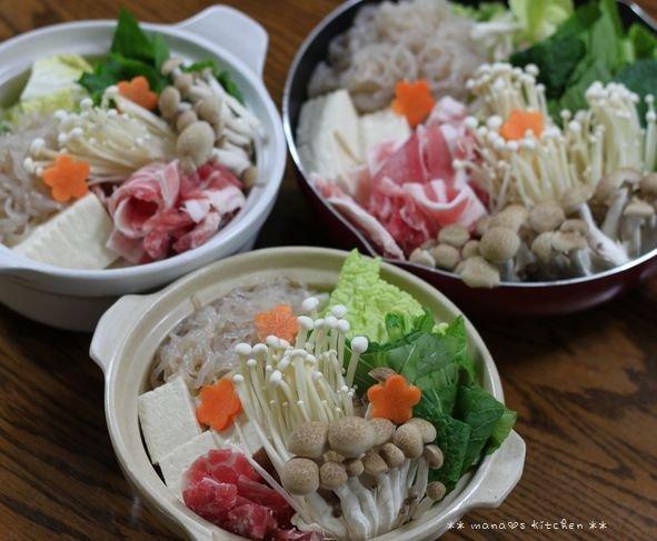 椎茸つくね ✿ キムチ鍋(๑¯﹃¯๑)♪_c0139375_113322.jpg