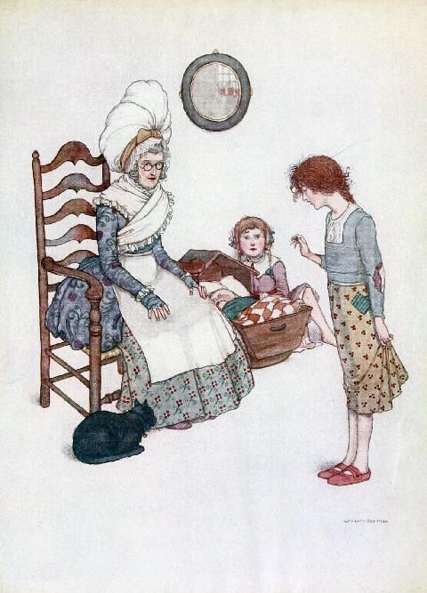 ウィリアム・ヒース・ロビンソン画の「赤い靴」_c0084183_17303665.jpg