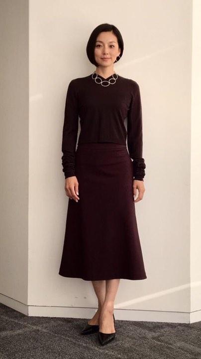 女優の本上まなみさん、ダニエラデマルキOコレクションネックレス着用!_b0115615_16324214.jpg