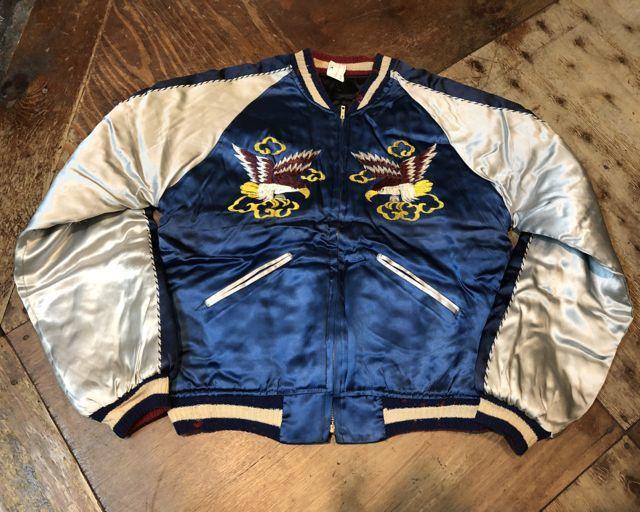 12月23日(土)入荷分!50s Souvenir Jacket リバーシブルシブル スカジャン!_c0144020_18562094.jpg