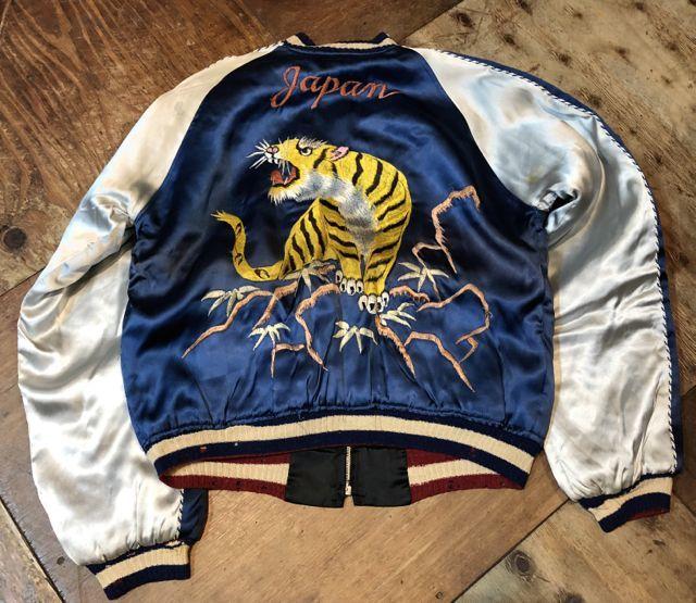 12月23日(土)入荷分!50s Souvenir Jacket リバーシブルシブル スカジャン!_c0144020_18562275.jpg