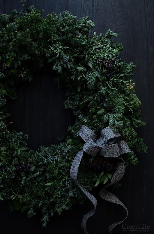 Christmas wreath_f0321522_17021463.jpg