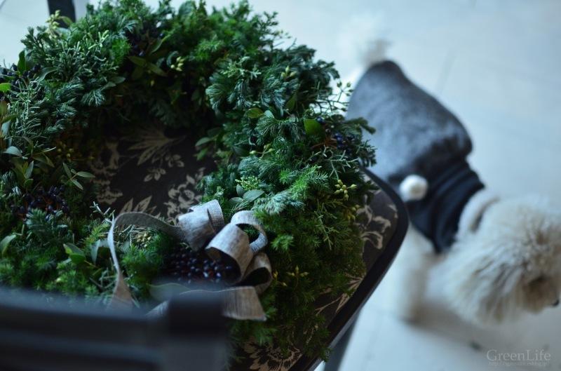 Christmas wreath_f0321522_17140588.jpg