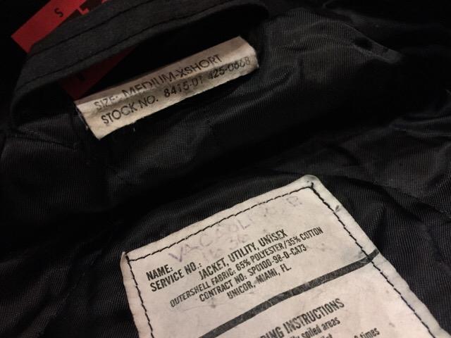 12月23日(土)大阪店スーペリア入荷!#6 U.S.Navy編!Shipboard JKT!!_c0078587_23362726.jpg