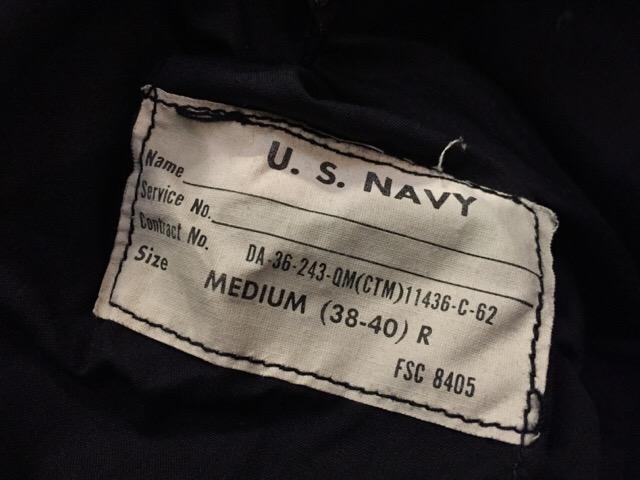 12月23日(土)大阪店スーペリア入荷!#6 U.S.Navy編!Shipboard JKT!!_c0078587_2337406.jpg
