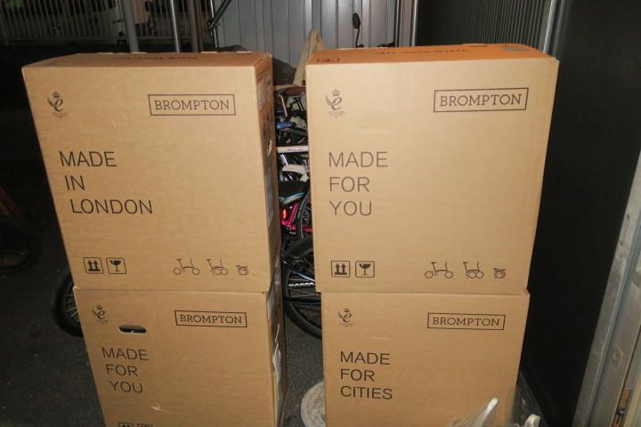 ブロンプトン純正Sバッグ 新柄入荷です_c0132901_20551379.jpg