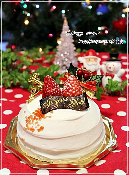 海苔巻き弁当とゆずとクリスマスケーキ♪_f0348032_18224379.jpg