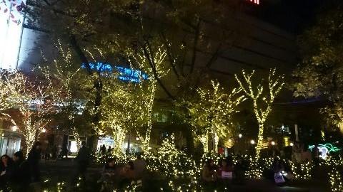 2017福岡クリスマスイルミネーション②_e0149436_20513732.jpg