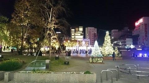 2017福岡クリスマスイルミネーション②_e0149436_20543862.jpg