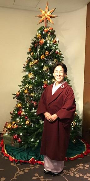 クリスマス会・野村エミさん・まいづるのもみの木のような帯_f0181251_17303913.jpg