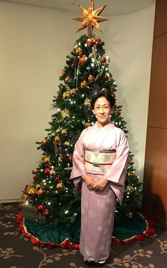 クリスマス会・野村エミさん・まいづるのもみの木のような帯_f0181251_1734099.jpg