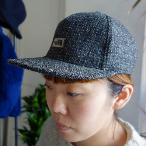 THE NORTH FACE PURPLE LABEL : Harris Tweed Cap_a0234452_19094648.jpg