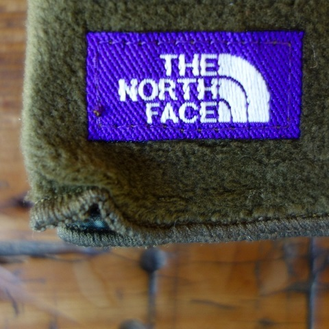 THE NORTH FACE PURPLE LABEL : Micro Fleece Muffler_a0234452_21381344.jpg