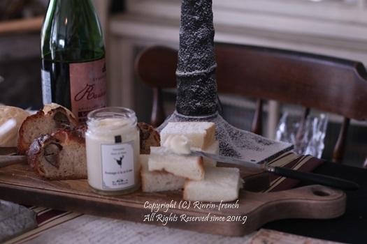 我が家でクリスマスパーティー(2)ワインレッドをきかせた大人乙女の為のテーブル_e0237680_11084932.jpg