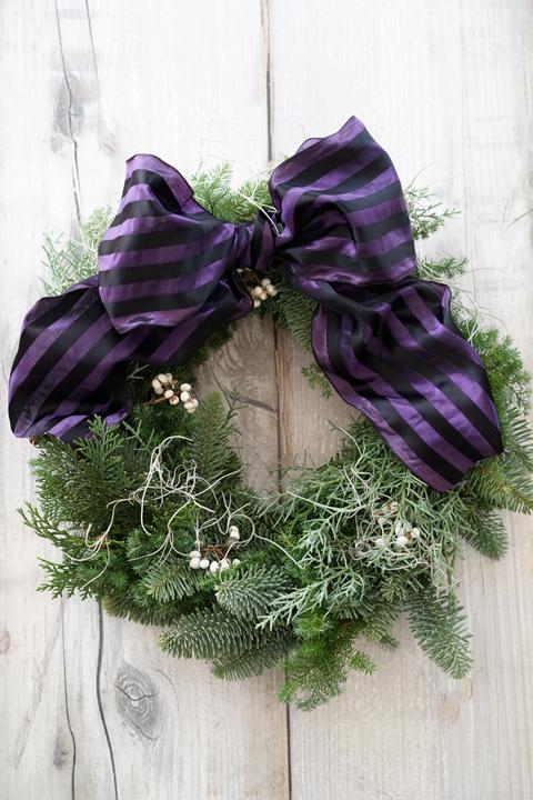 クリスマス リースレッスン_f0127281_11113810.jpg