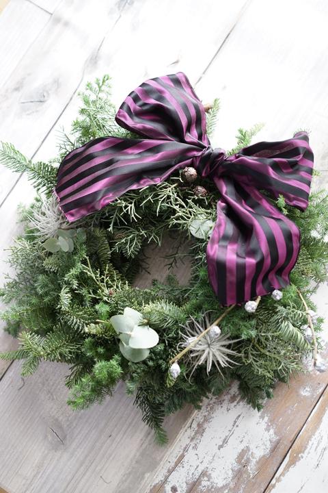 クリスマス リースレッスン_f0127281_11122723.jpg