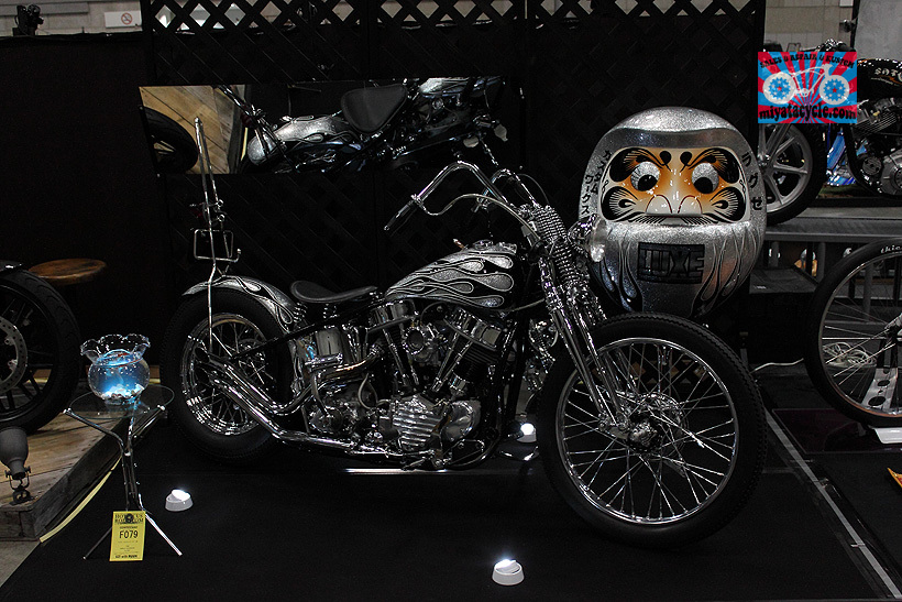 『 26th YOKOHAMA HOT ROD CUSTOM SHOW 』エントリーのモーターサイクル 1_e0126901_12382976.jpg