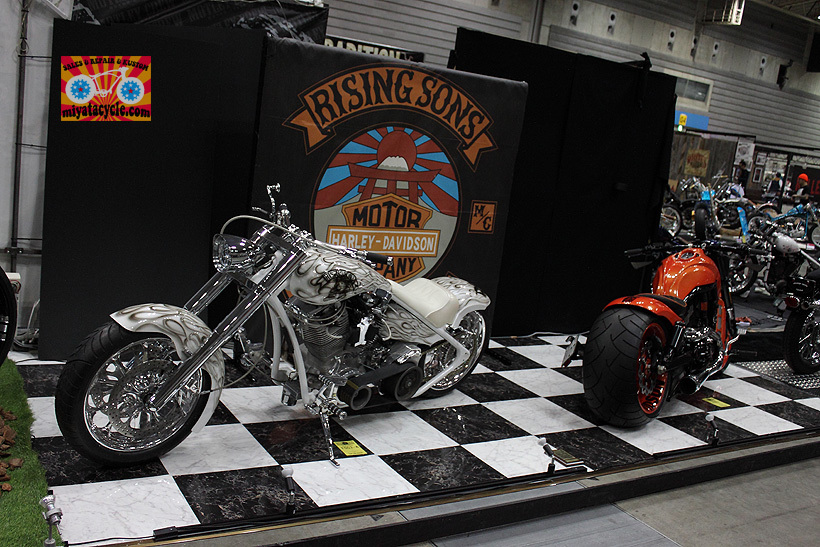 『 26th YOKOHAMA HOT ROD CUSTOM SHOW 』エントリーのモーターサイクル 1_e0126901_12394410.jpg