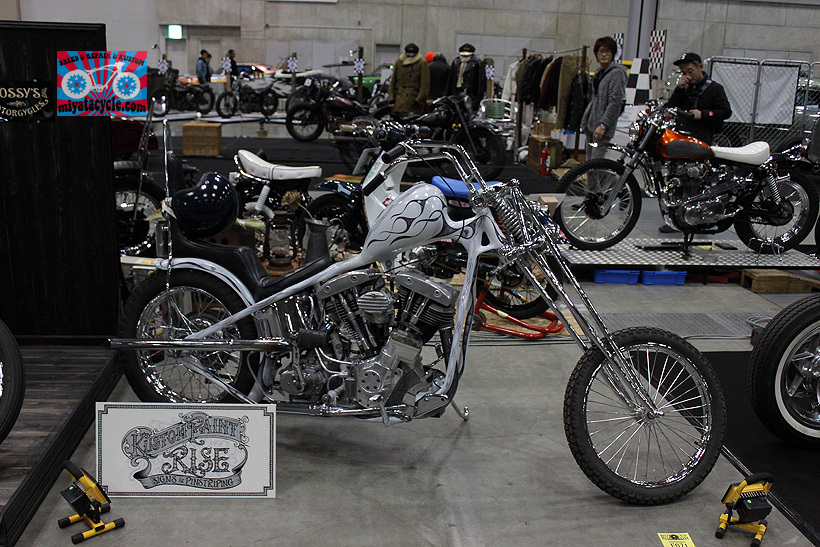『 26th YOKOHAMA HOT ROD CUSTOM SHOW 』エントリーのモーターサイクル 1_e0126901_12400740.jpg