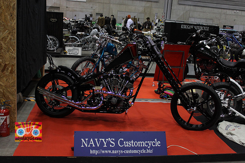『 26th YOKOHAMA HOT ROD CUSTOM SHOW 』エントリーのモーターサイクル 1_e0126901_12403913.jpg