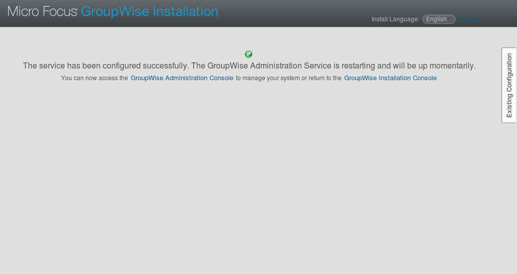GroupWise 2014 R2 SP1 の SLES12 へのインストール(一部不具合あり)_a0056607_10330065.jpg