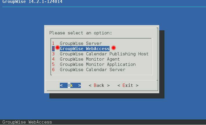 GroupWise 2014 R2 SP1 の SLES12 へのインストール(一部不具合あり)_a0056607_10362086.jpg