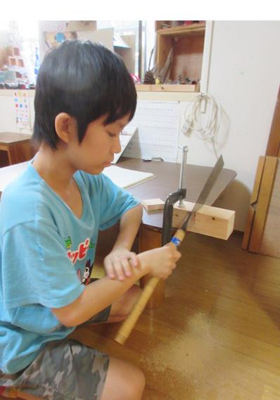 木工月間  小学生クラス(上高野・比良)_f0211514_19012650.jpg