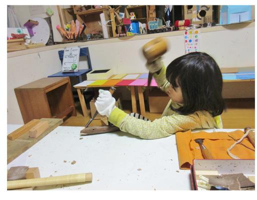 木工月間  小学生クラス(上高野・比良)_f0211514_19431129.jpg