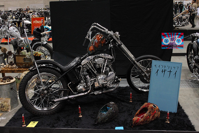 『 26th YOKOHAMA HOT ROD CUSTOM SHOW 』エントリーのモーターサイクル 1_e0126901_09041463.jpg