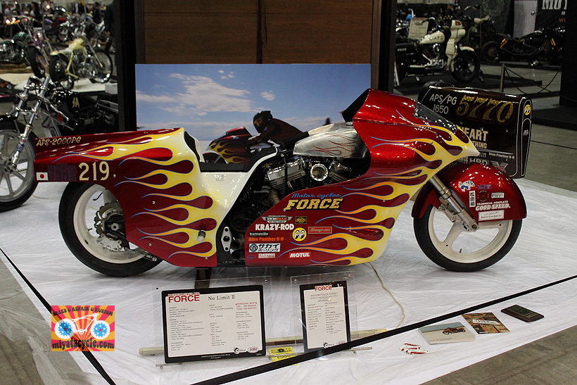 『 26th YOKOHAMA HOT ROD CUSTOM SHOW 』エントリーのモーターサイクル 2_e0126901_10574965.jpg