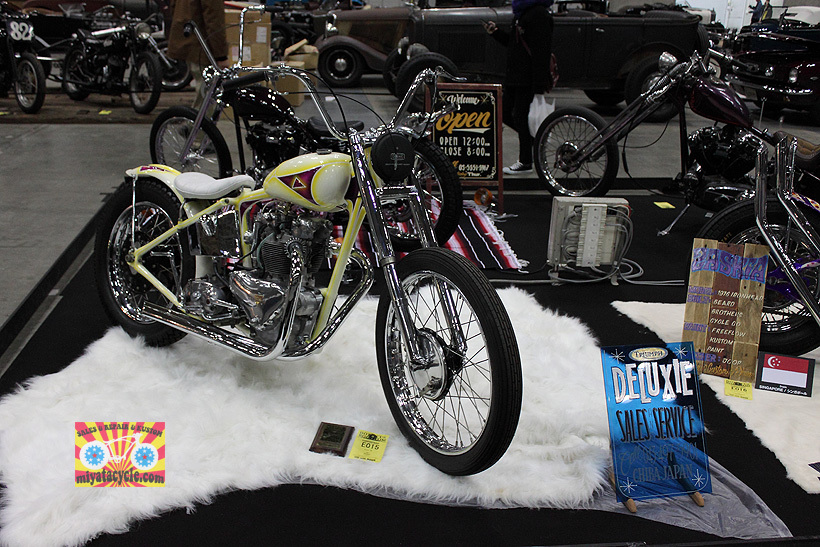 『 26th YOKOHAMA HOT ROD CUSTOM SHOW 』エントリーのモーターサイクル 2_e0126901_10581113.jpg